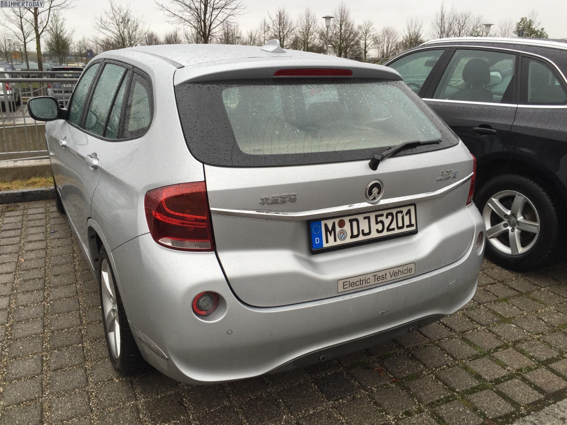 Zinoro 1e In München Bmw X1 Mit Elektro Antrieb Für China