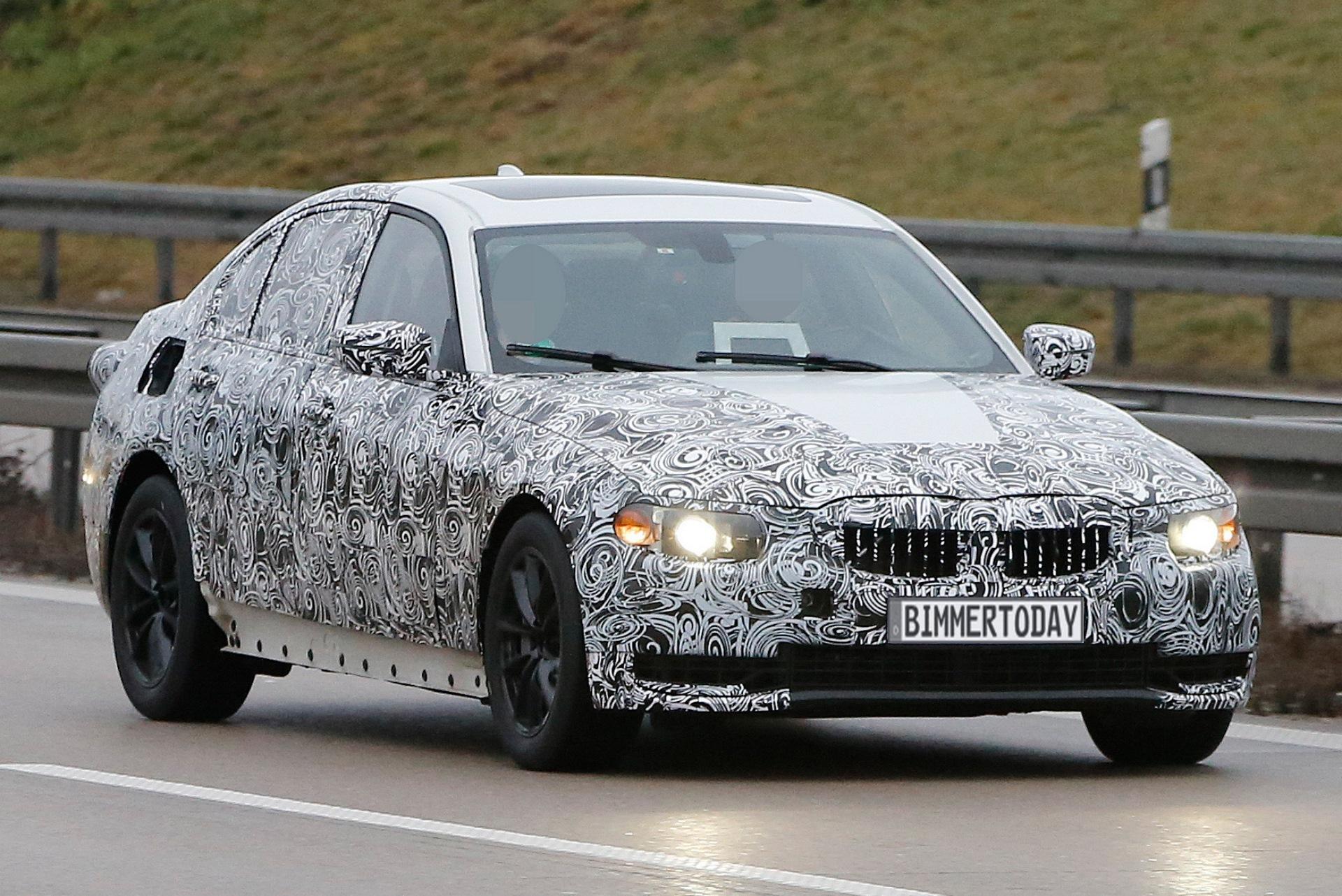 I3 Bmw 2018 >> BMW 3er G20: Erste Erlkönig-Fotos zeigen F30-Nachfolger