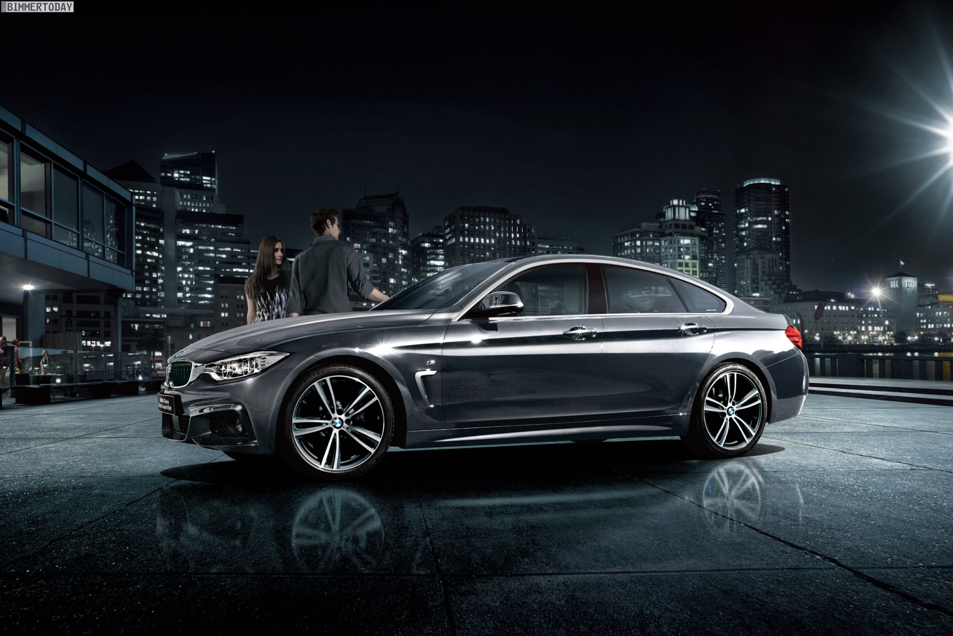 Bmw 4er gran coup in style sondermodell exklusiv f r japan for Bmw 4er gran coupe m paket
