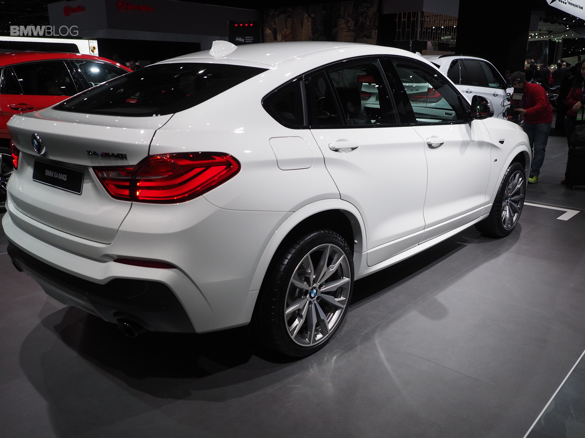 Bmw X4 M40i Live Fotos Zeigen Power Suv Mit 360 Ps In Detroit