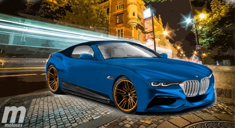 BMW-Z5-2018-Photoshop-Entwurf-Motor-es