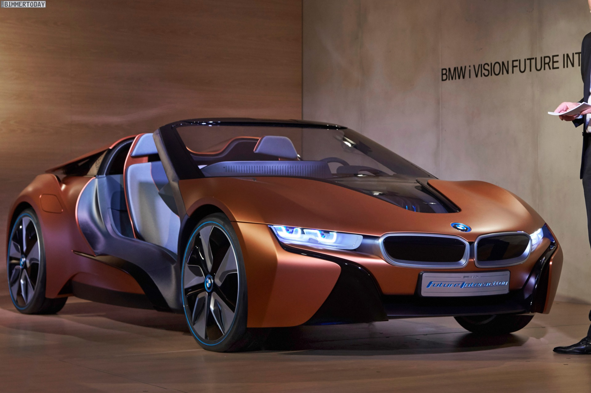 Bmw I Vision Future Interaction I8 Spyder Zur Ces 2016