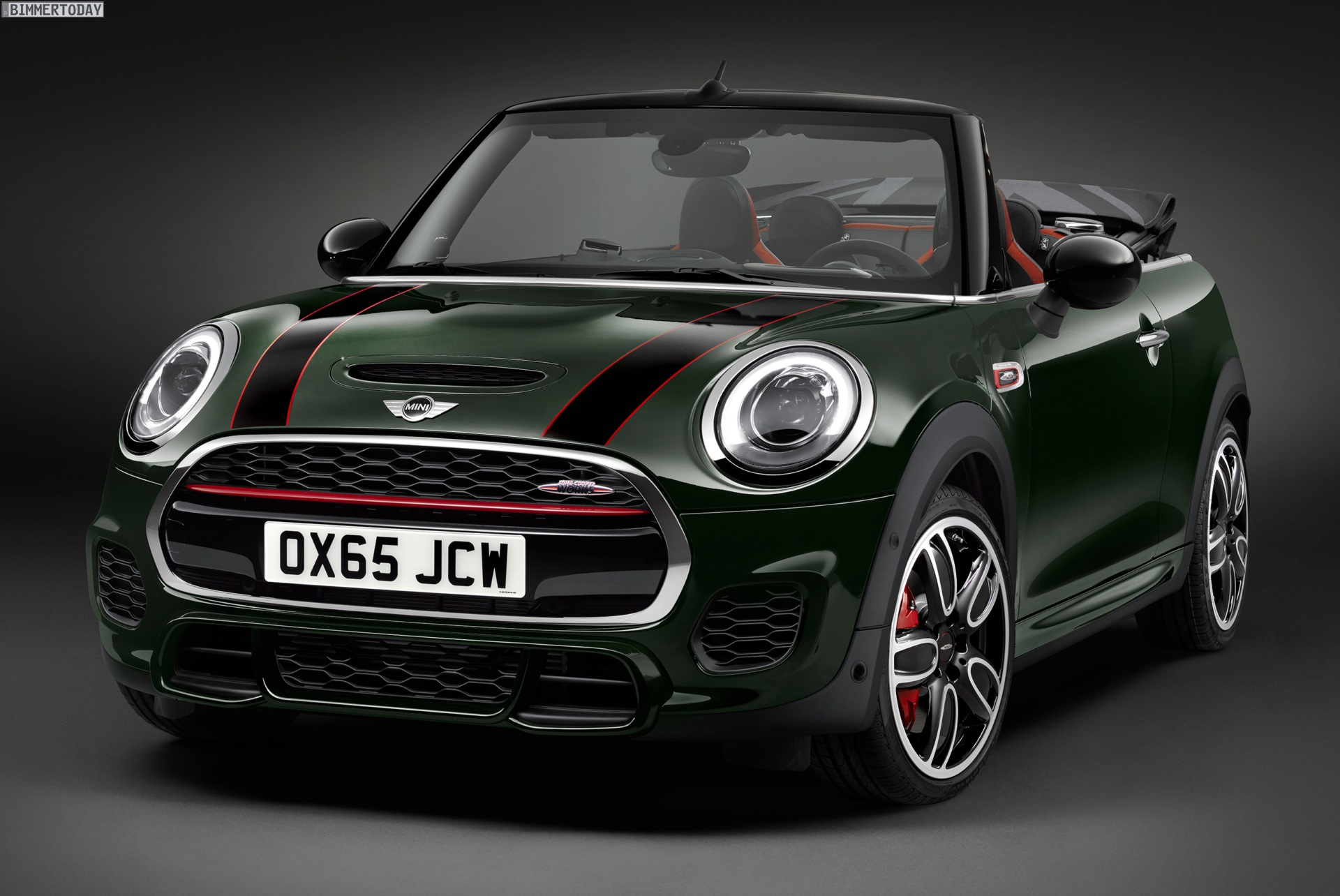 mini john cooper works cabrio f57 231 ps f r euro. Black Bedroom Furniture Sets. Home Design Ideas