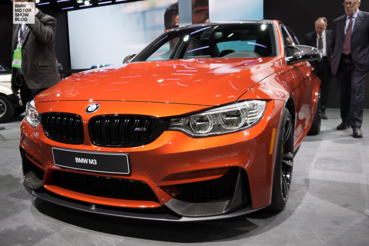 Detroit 2016 Bmw M3 F80 Lci In Sakhir Orange Metallic