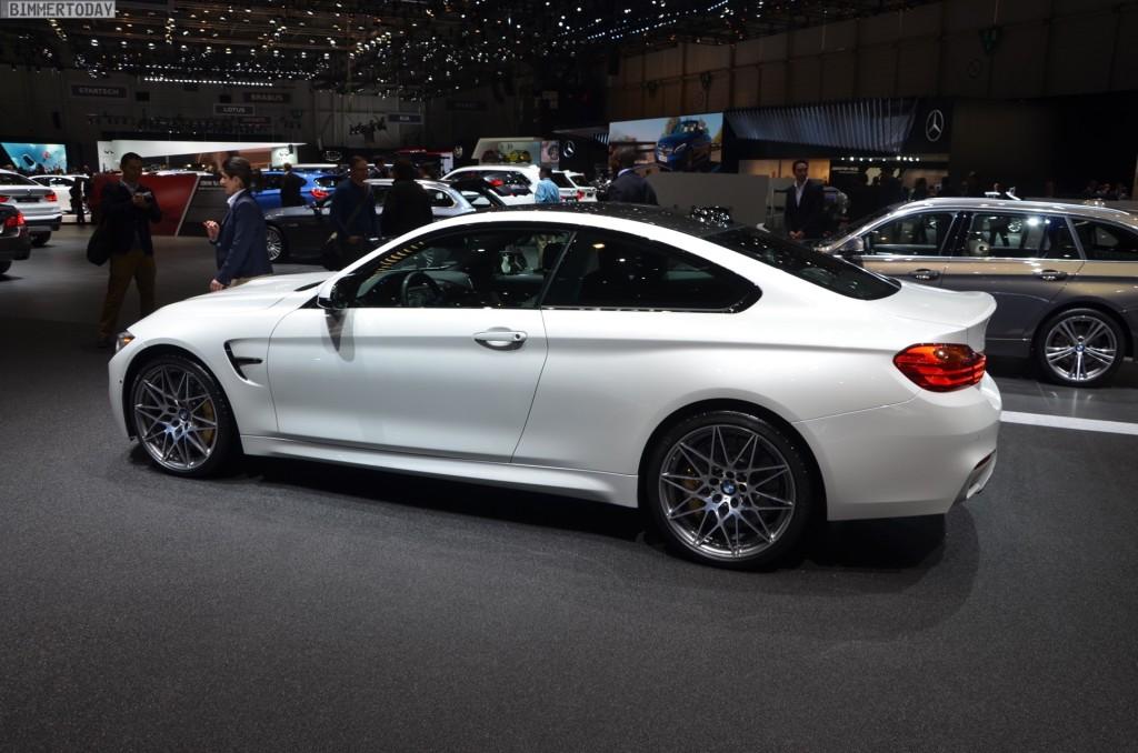 Bmw M4 Competition Mit 450 Ps Zum Genfer Autosalon 2016