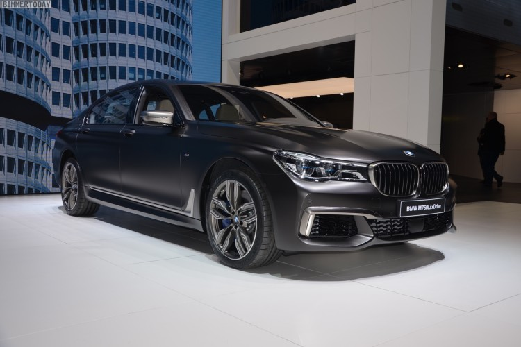 Genfer Autosalon 2016 Bmw M760li In Frozen Dark Brown