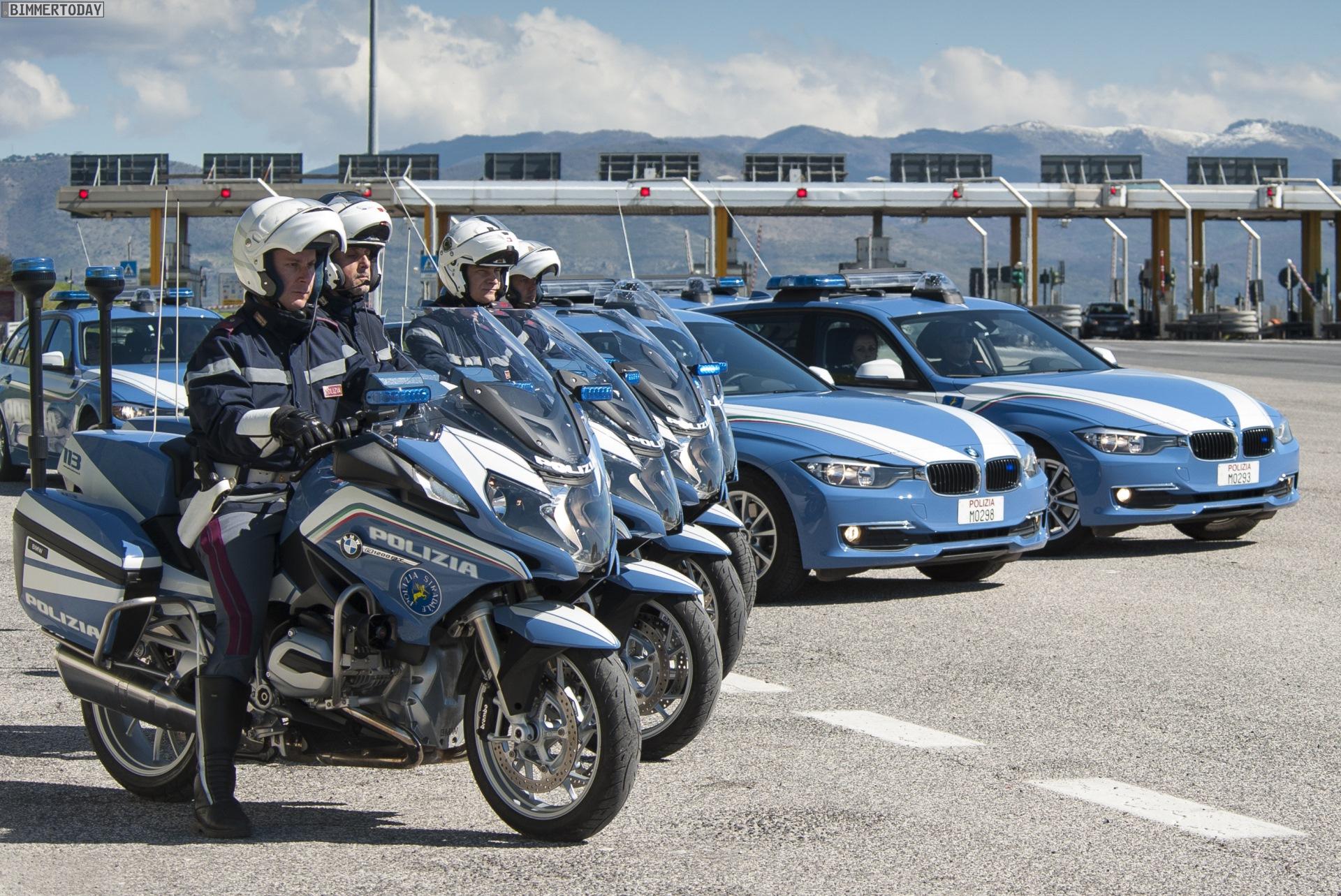 Polizia Stradale Polizei In Italien Setzt Auf Bmw 3er Touring