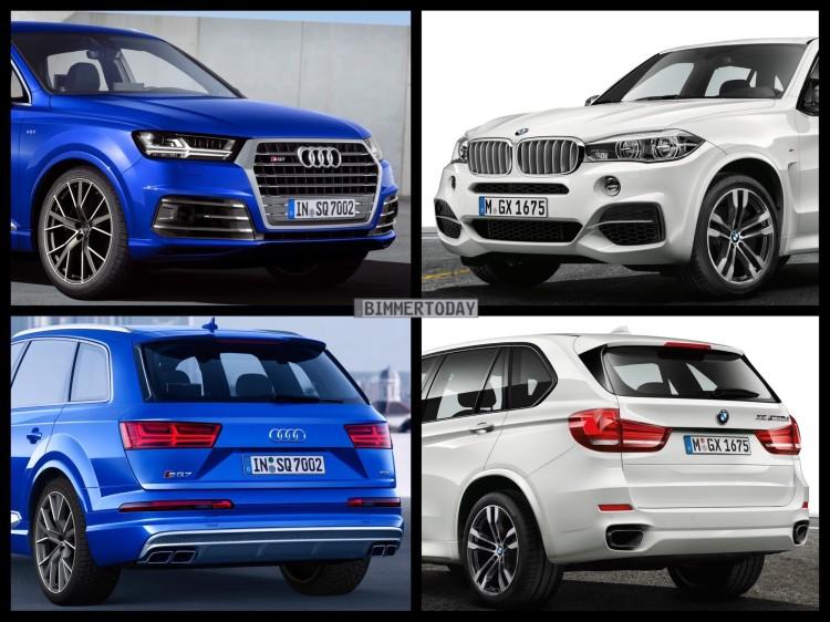 Audi SQ7, BMW X5 M50d, Triturbo-Diesel