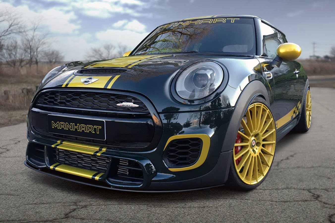 Manhart Mini John Cooper Works Tuning F56 Mit 300 Ps
