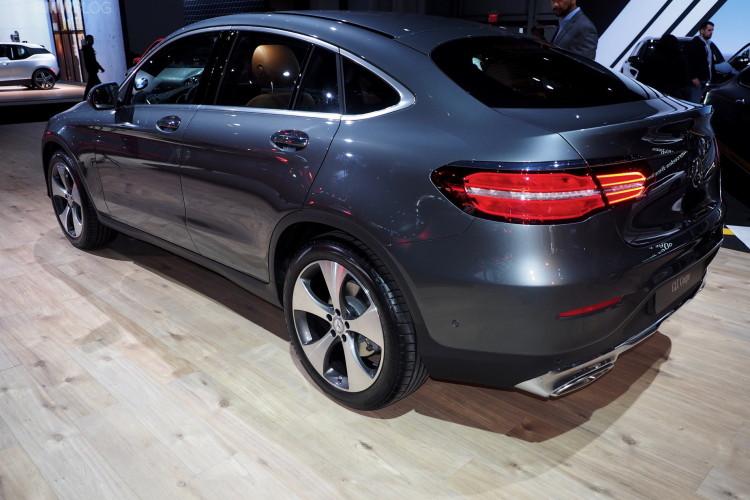 Mercedes Glc Coup 233 Auf Der New York Auto Show 2016