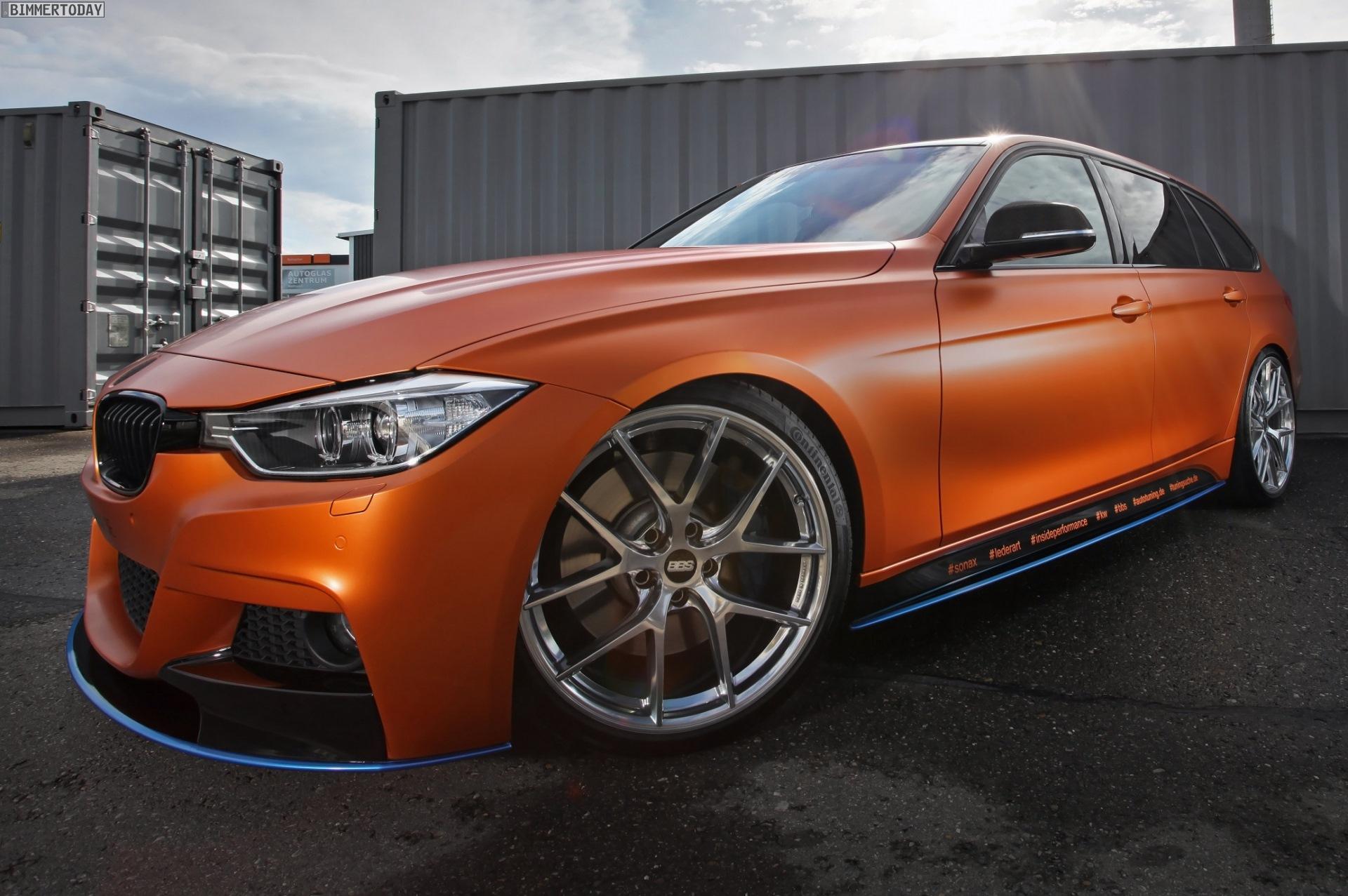 BMW 3er Touring Tuning Und Folierung Machen Unbersehbar