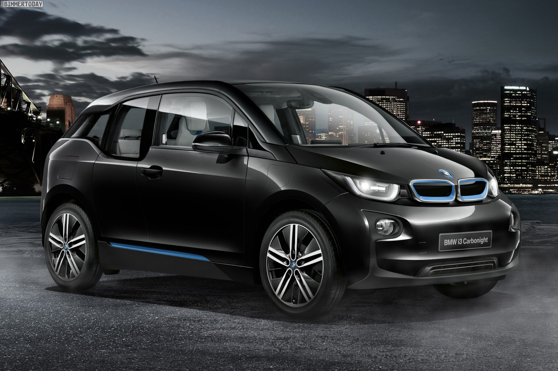 Bmw I3 Carbonight Zum 100 Sondermodell In Fluid Black