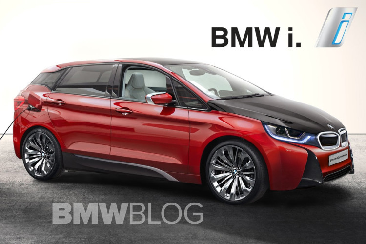 Bmw I5 Neues Rendering Zeigt Elektro Crossover Als I3 Xxl