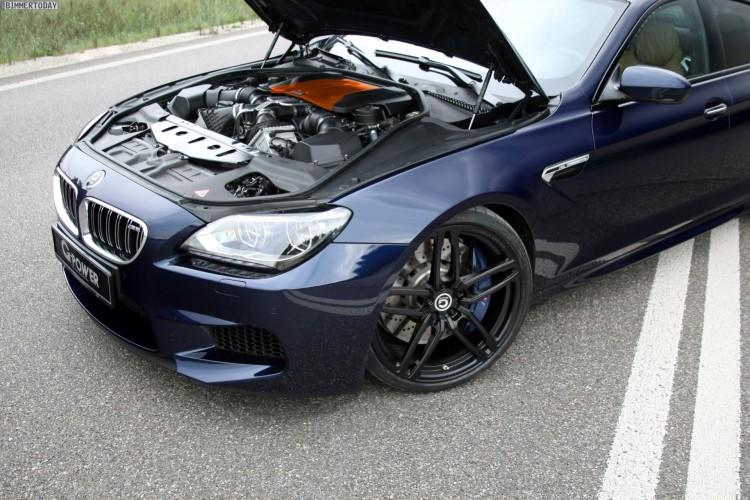 G Power Bmw M6 Gran Coupé Video Zeigt 740 Ps Boliden