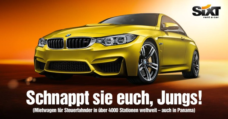 Panama-Papers-Sixt-Werbung-BMW-M4