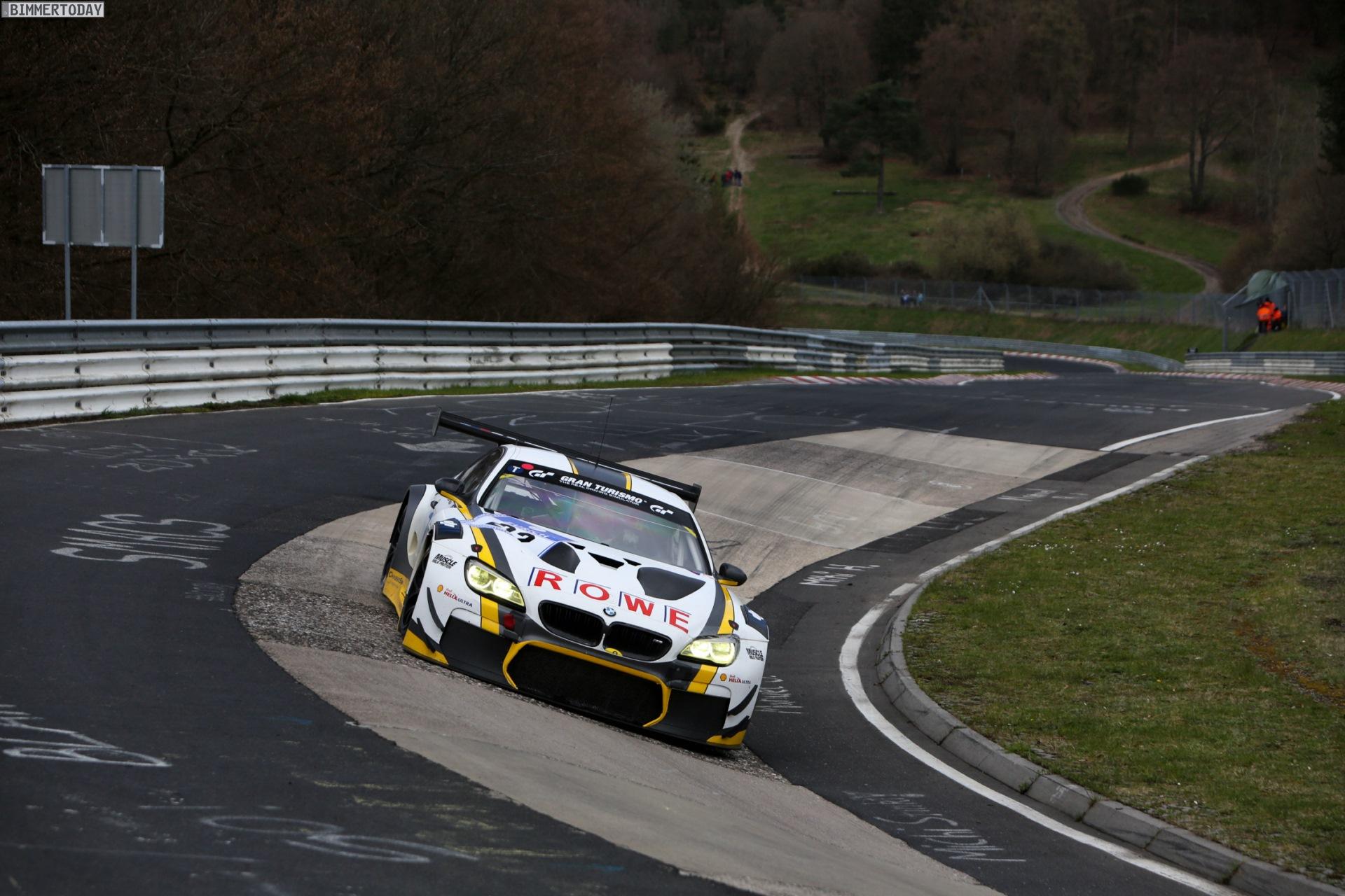 24h Nürburgring 2016: BMW M6 GT3 im Kreis der Favoriten