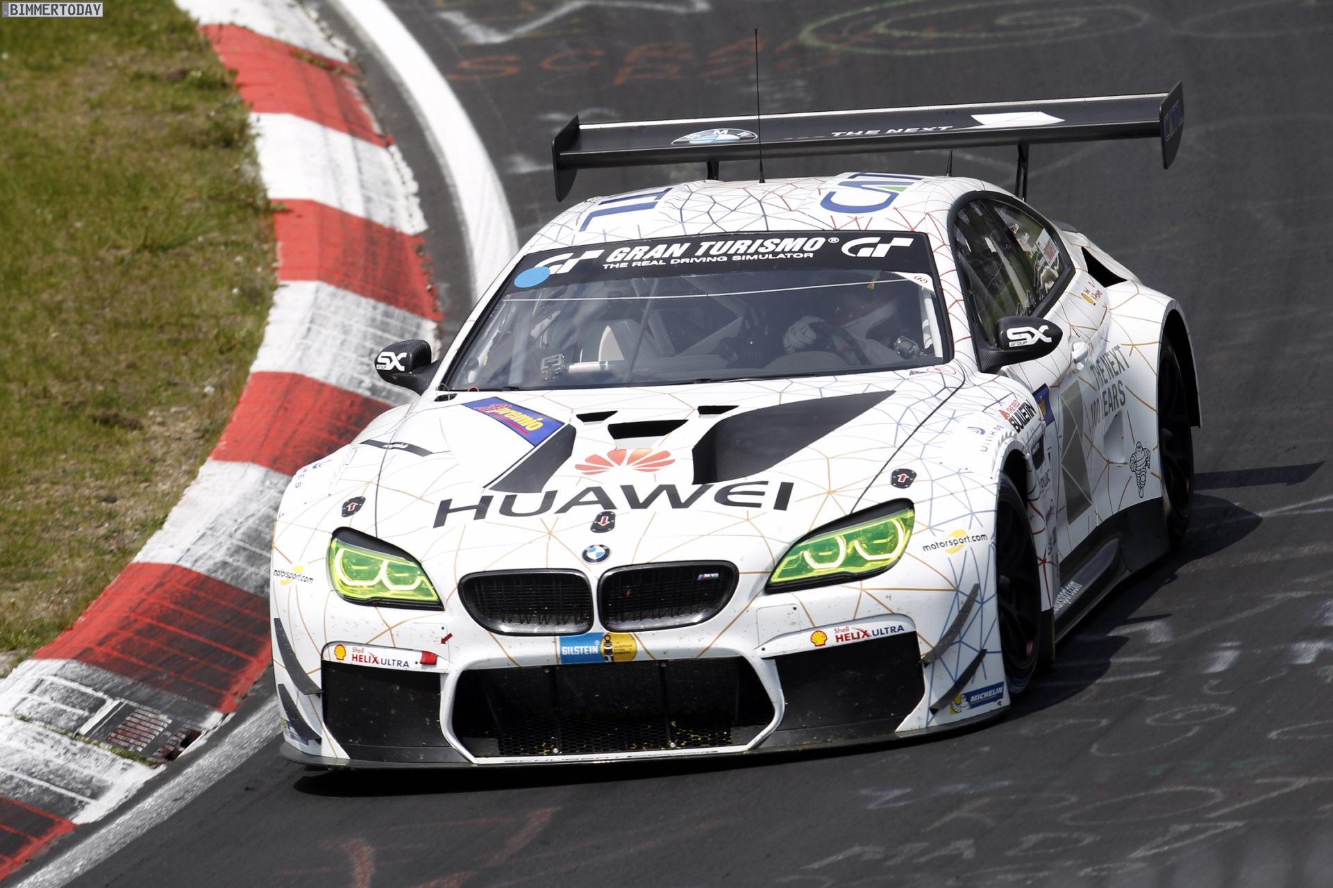 24h N 252 Rburgring 2016 Bmw M6 Gt3 Im Kreis Der Favoriten