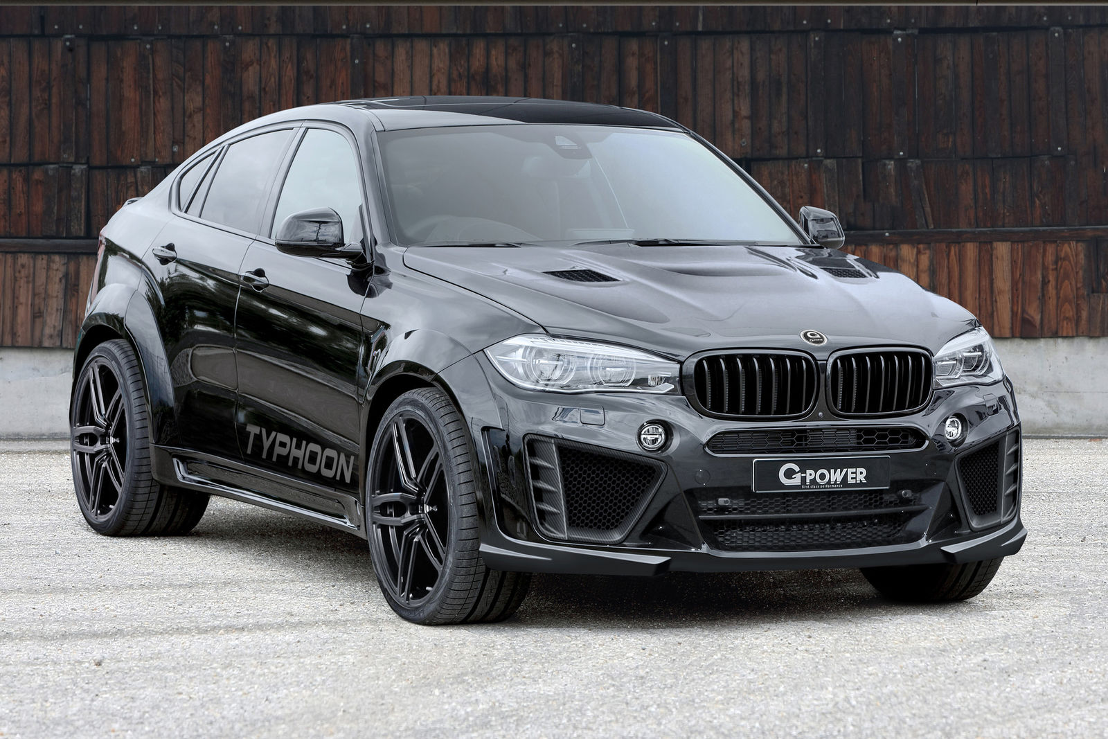 G Power Bmw X6 M Typhoon 750 Ps Und Tuning Bodykit