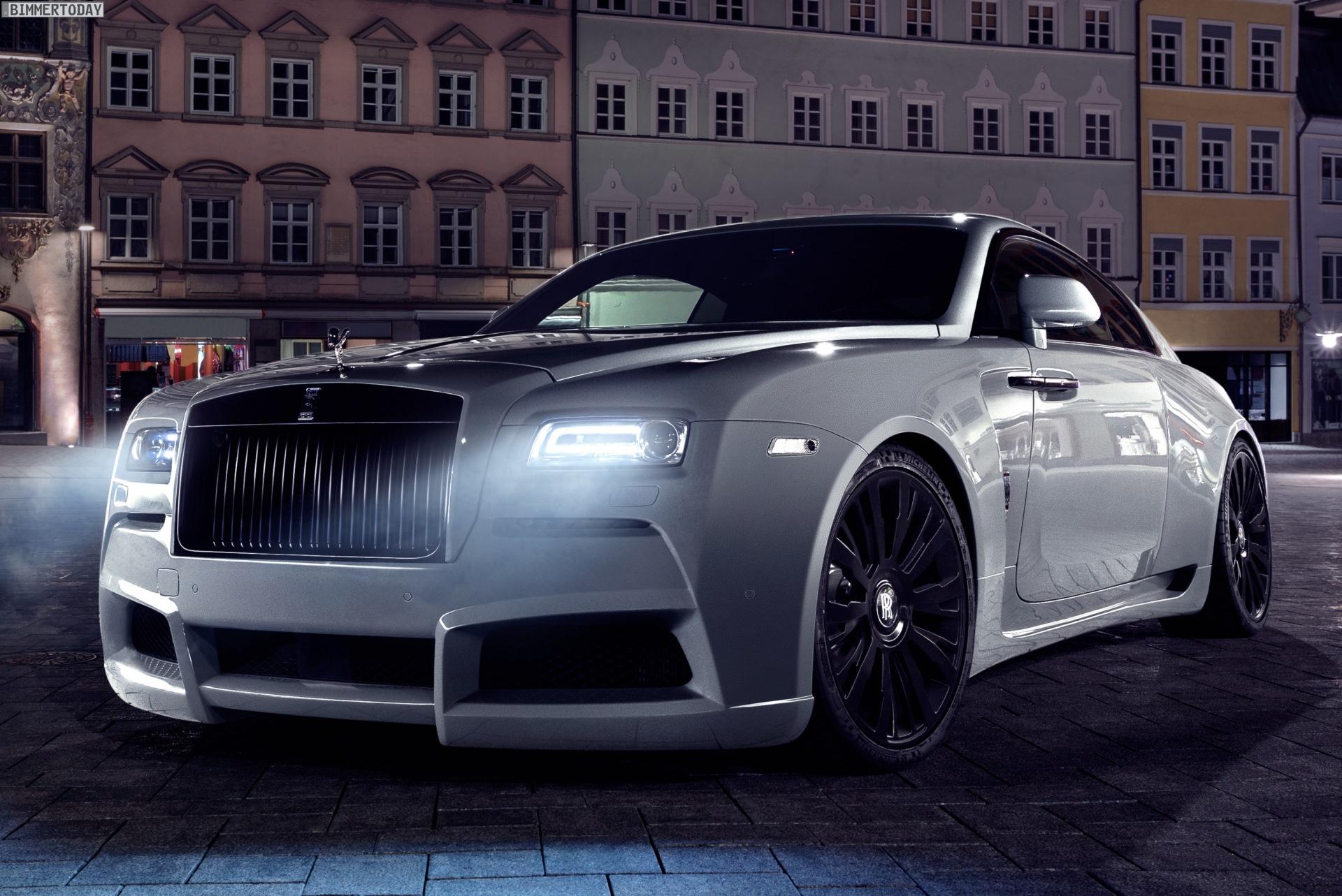 Spofec Overdose: Rolls-Royce Wraith-Tuning mit Widebody-Kit