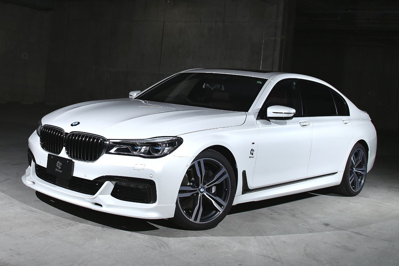 3d Design Bmw 7er G11 G12 Mit Aero Tuning Aus Japan