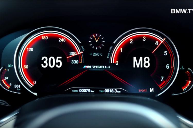 Bmw M760li Video Zeigt Power Des V12 Biturbo Mit 610 Ps
