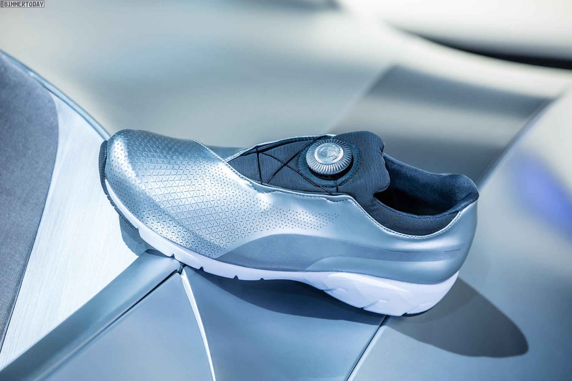 Designworks: BMW GINA als Inspiration für Puma Schuhe