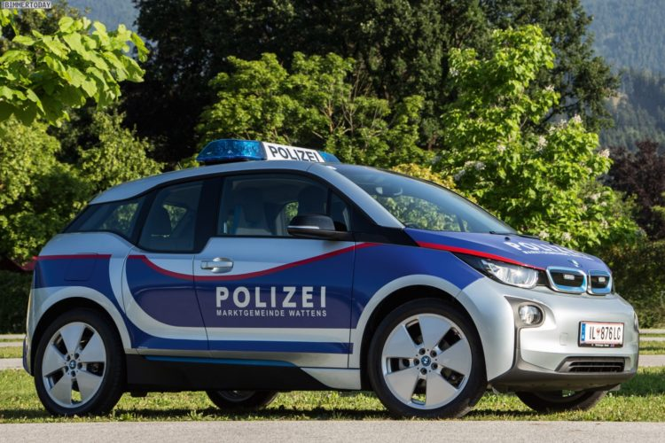 bmw i3 nun auch in sterreich als polizei auto im einsatz. Black Bedroom Furniture Sets. Home Design Ideas