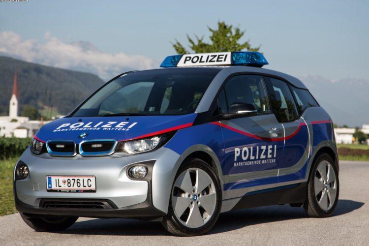 Bmw I3 Nun Auch In 214 Sterreich Als Polizei Auto Im Einsatz