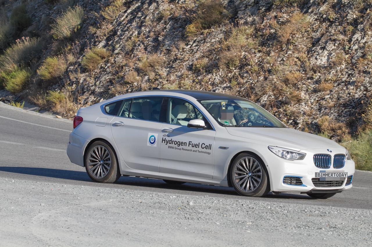 Bmw Testet Brennstoffzelle Mit Toyota Mirai Und Tesla Model S