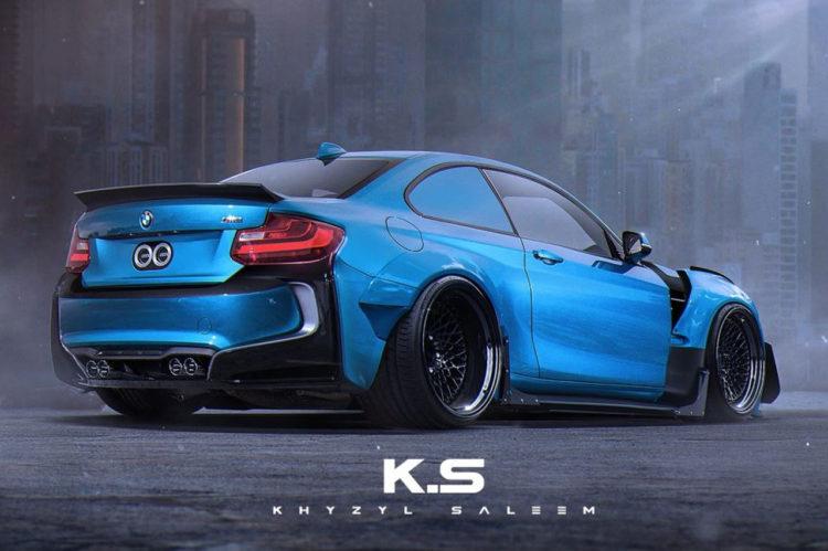 BMW-M2-i8-Bodykit-Khyzyl-Saleem