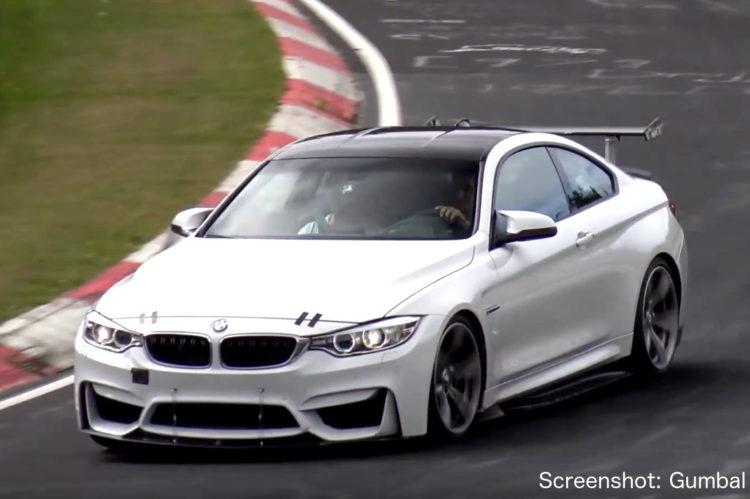 BMW-M4-GT4-2018-Erlkoenig-Video-Gumbal