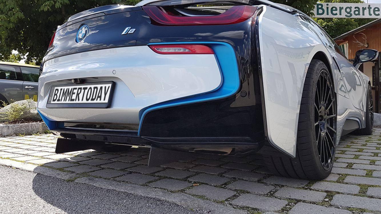 Bmw I8 Prototyp Mit Scharfen Performance Upgrades Erwischt