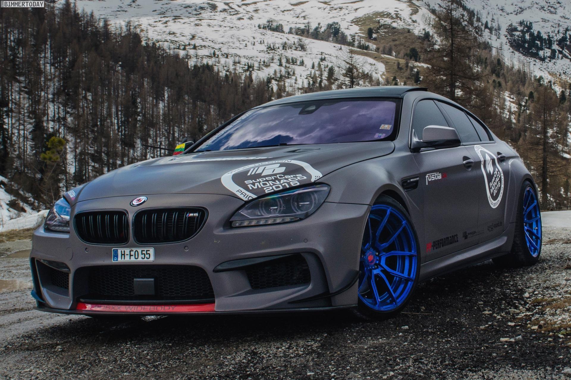 Bmw M6 Gran Coupe >> fostla.de BMW 6er Gran Coupé: Folierung trifft Bodykit PD6xx