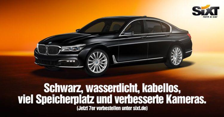 iPhone-7-BMW-7er-Werbung-Sixt-2016