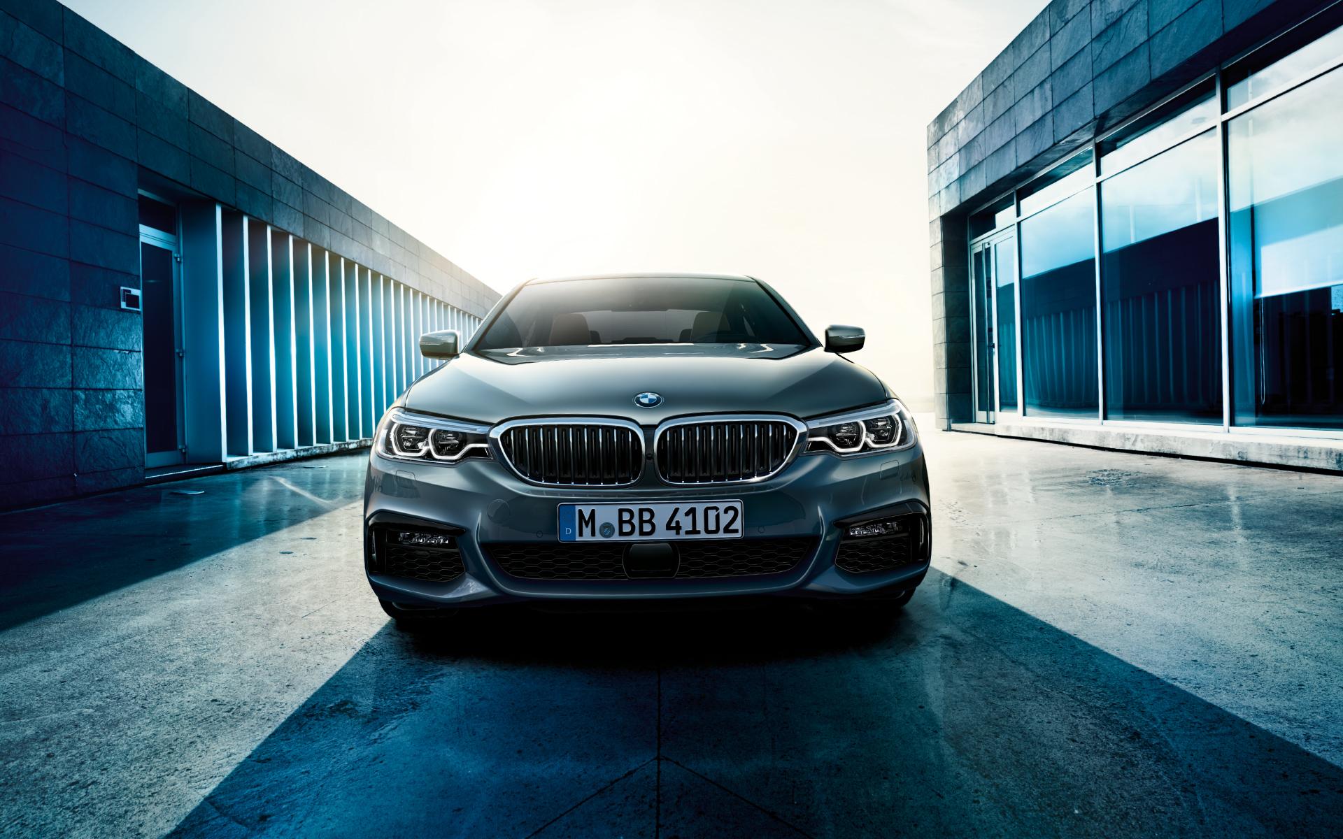 BMW 5er G30: Wallpaper-Motive für den Desktop-Hintergrund
