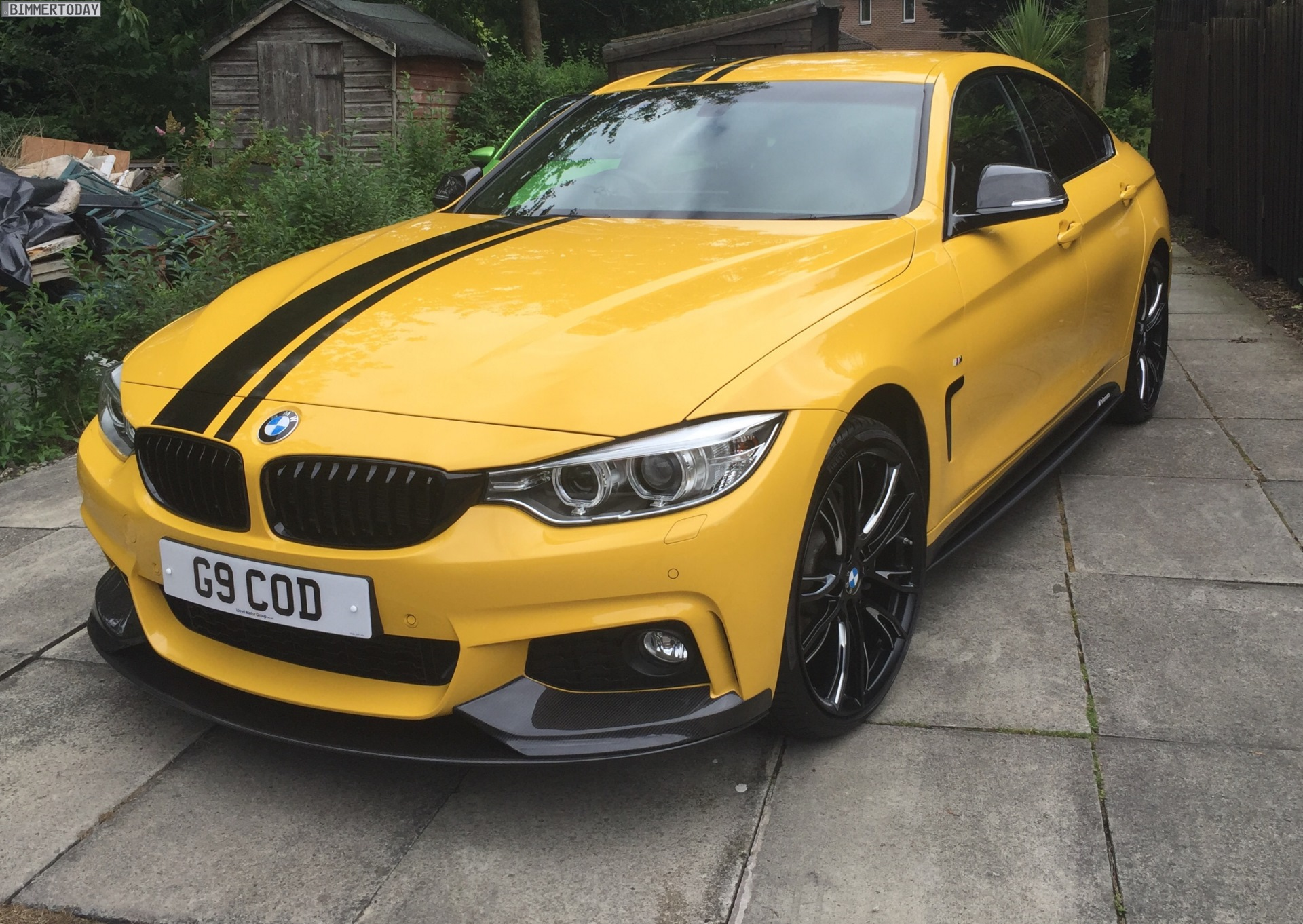 Bmw Individual Speed Yellow Trifft Bmw 4er Gran Coup 233