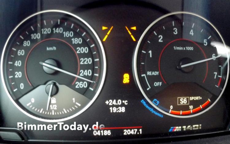 BMW-M140i-2016-Tacho-Video