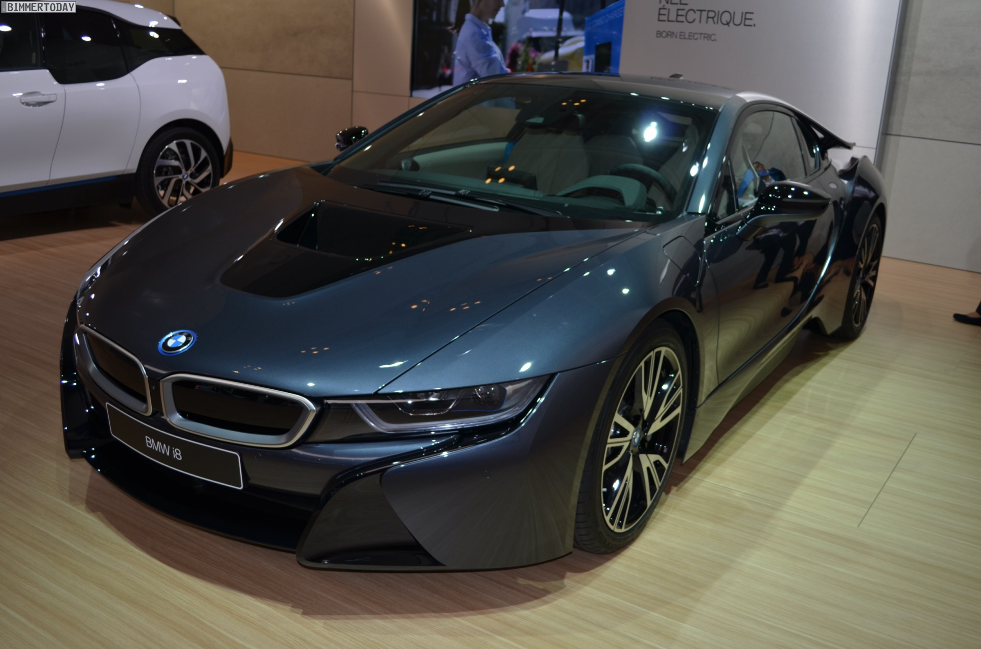 Bmw I8 Protonic Dark Silver Als Vorlage F 252 R Bmw Cruise E Bike