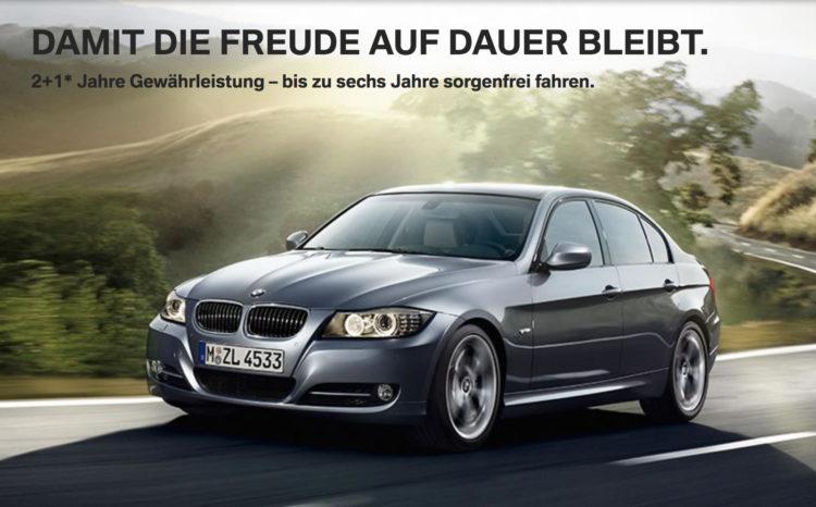 BMW-Gewaehrleistung-2+1-Deutschland-2016