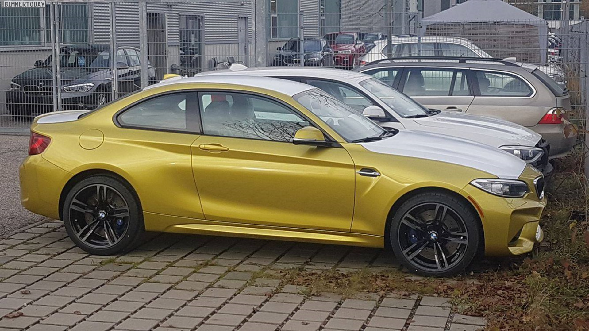Bmw M2 In Austin Yellow F87 In Exklusiver Individual Farbe