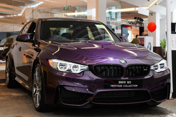 Bmw M3 Heritage Collection Bunte Individualisten In Singapur