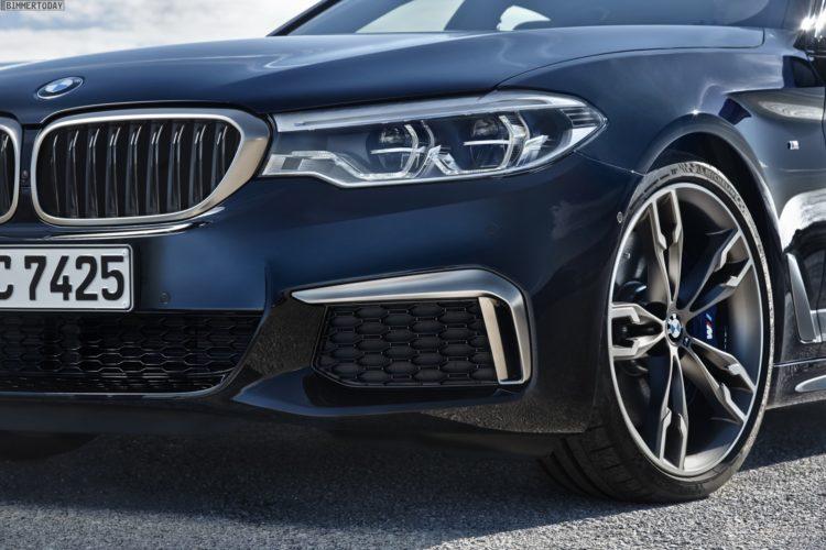 Bmw M550d 2017 So Kommt Der G30 Mit Quadturbo Diesel