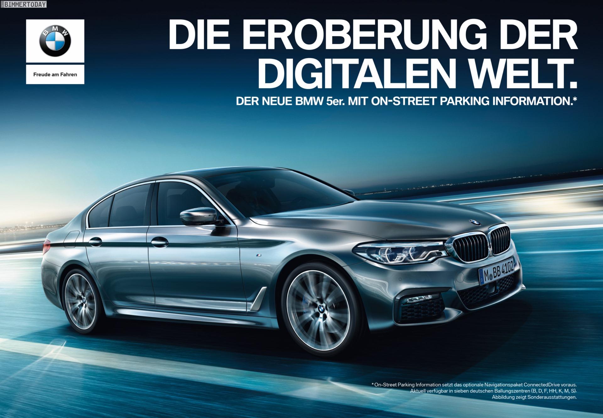 Bmw 5er G30 Werbung 2017 Die Eroberung Der Digitalen Welt