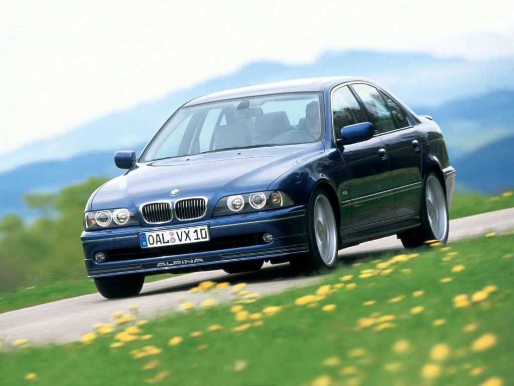 20 Jahre Bmw Alpina B10 V8 E39 Jubiläum In Buchloe