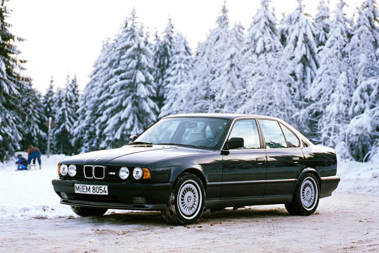 Bmw M5 3 6 E34 Auch Fur Den Winter Einsatz Gut Gerustet