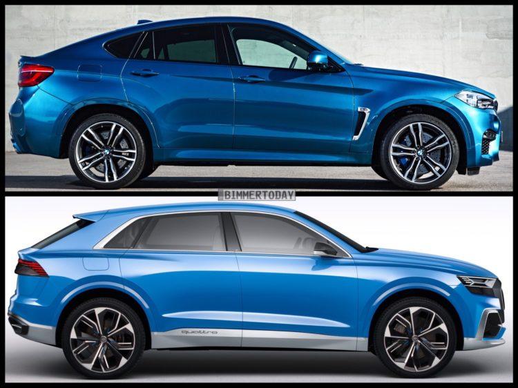 Bild Vergleich Audi Q8 Concept Trifft Suv Coup 233 Bmw X6 M
