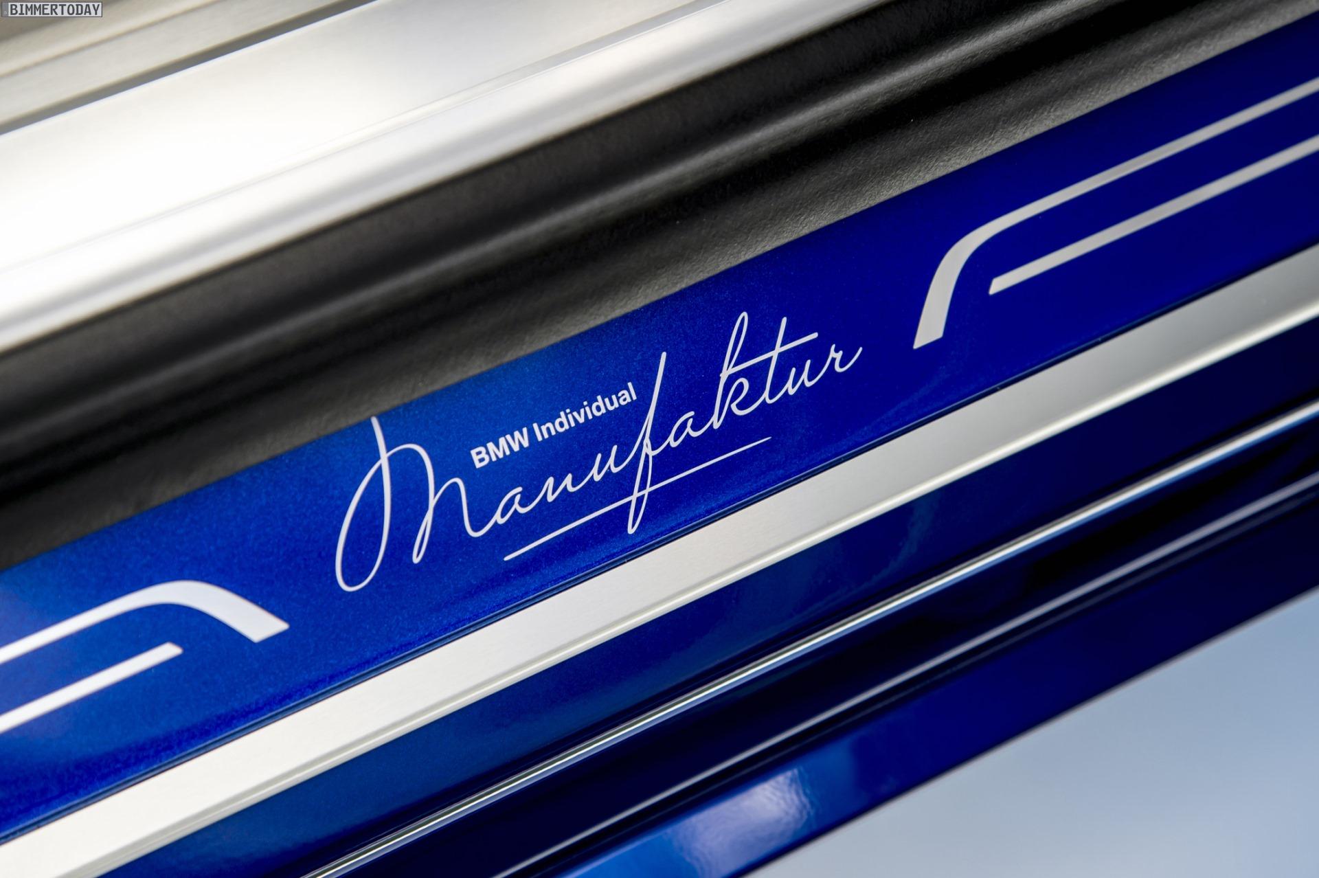 Bmw Individual Manufaktur M760li V12 In San Marino Blau