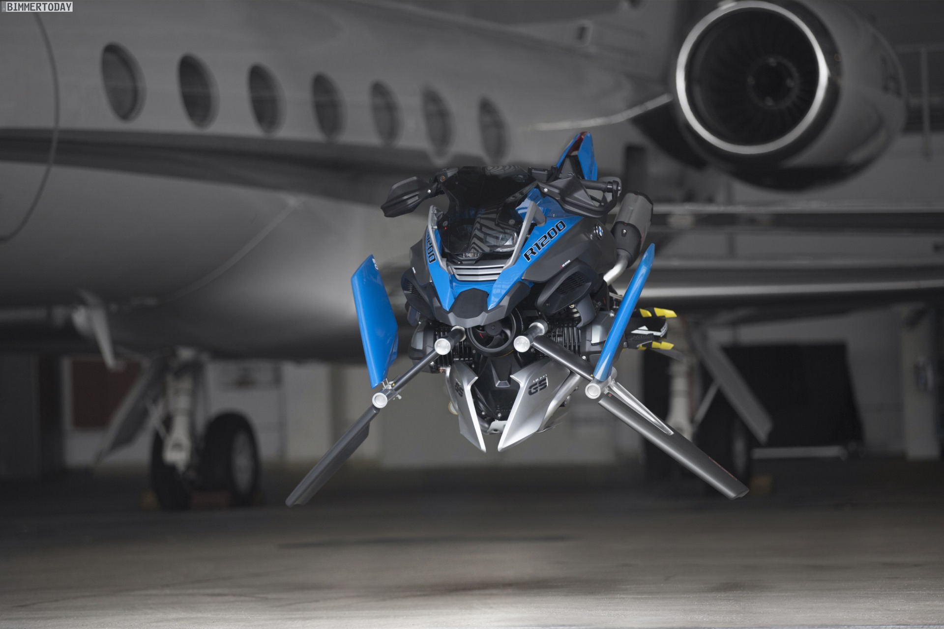 Bmw Motorrad Und Lego Bauen Hover Bike Im Ma 223 Stab 1 1