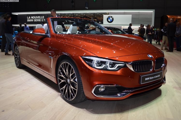 genf 2017 bmw 4er cabrio facelift strahlt in sunset orange. Black Bedroom Furniture Sets. Home Design Ideas