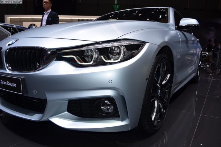 genf 2017: bmw 4er gran coupé facelift als 440i in frozen silver